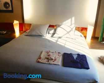 Minshuku Chambres d'Hôtes Japonaises - Thiers - Schlafzimmer
