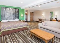 Super 8 by Wyndham Sioux City South - Sioux City - Schlafzimmer