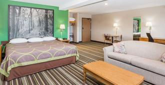 Super 8 by Wyndham Sioux City South - Sioux City - Bedroom