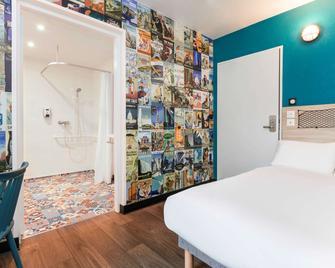 Hotelf1 Rouen Sud Parc Expos - Saint-Étienne-du-Rouvray - Schlafzimmer