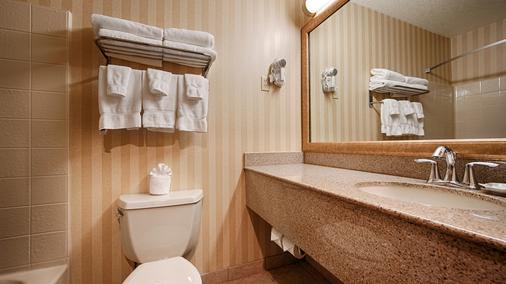 Best Western PLUS Landmark Inn - Lincoln City - Phòng tắm