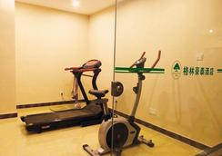 Greentree Inn Hefei Qianshan Road Huangshan Road Hotel - Hefei - Gym