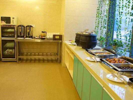 Greentree Inn Hefei Qianshan Road Huangshan Road Hotel - Hefei - Buffet