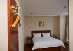 Greentree Inn Hefei Qianshan Road Huangshan Road Hotel - Hefei - Bedroom