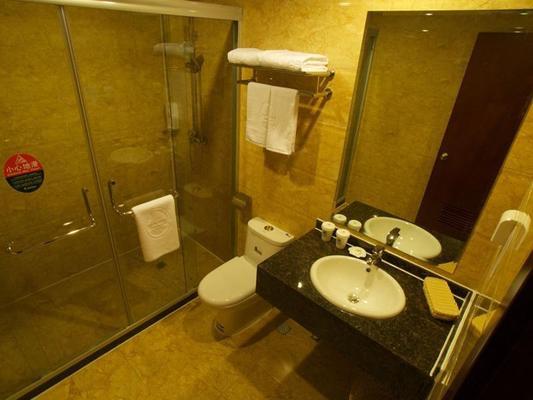 Greentree Inn Hefei Qianshan Road Huangshan Road Hotel - Hefei - Bathroom