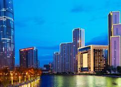 The St. Regis Tianjin - Tiencin - Widok na zewnątrz