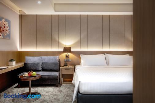 Hotel Valletta - Jiaoxi - Phòng ngủ