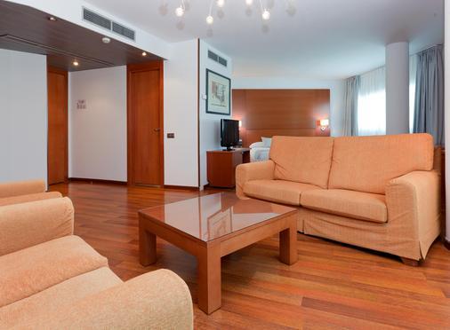 Hotel Azarbe - Murcia - Living room
