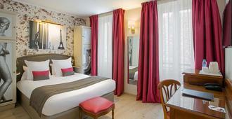 貝斯特韋斯特特洛加德洛酒店 - 巴黎 - 巴黎 - 臥室