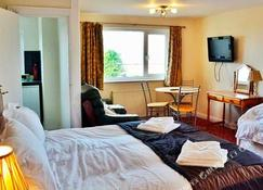Porth Lodge Hotel - Newquay - Slaapkamer