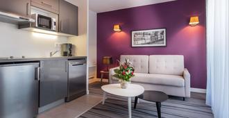 Nemea Appart Hotel Residence Quai Victor - Tours - Cocina