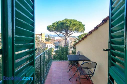 Hotel Masaccio - Florence - Balcony