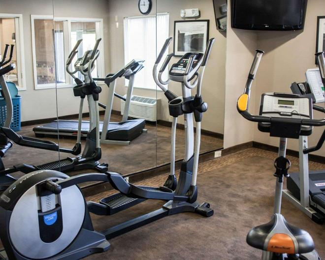 Sleep Inn and Suites Topeka - Topeka - Fitnessbereich