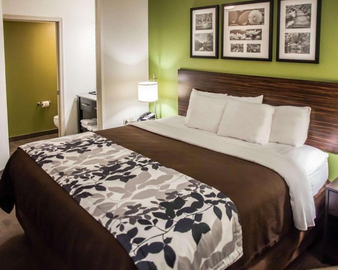 Sleep Inn and Suites Topeka - Topeka - Schlafzimmer