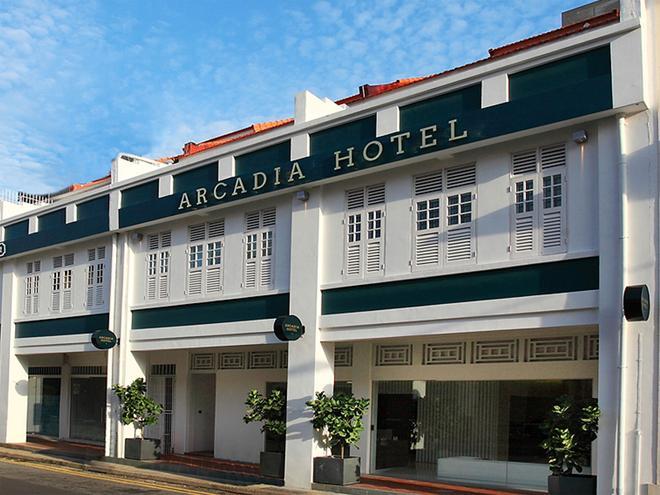 新加坡阿卡迪亞酒店 - 新加坡 - 建築