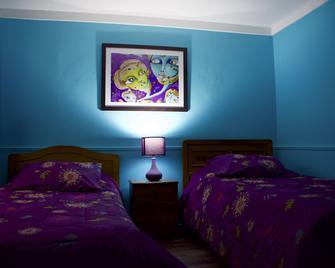 Hostal Maison de la Mer - Вальпараїсо - Bedroom