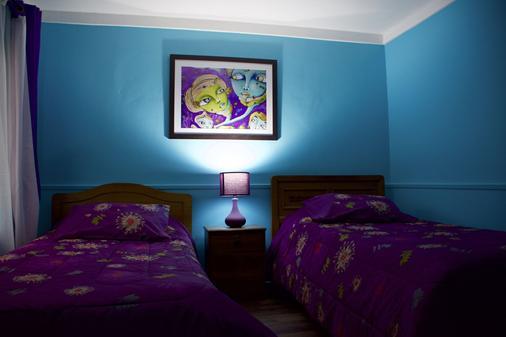 Hostal Maison de la Mer - Valparaíso - Makuuhuone