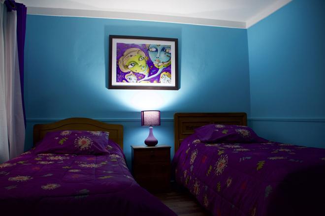 Hostal Maison de la Mer - Valparaíso - Phòng ngủ