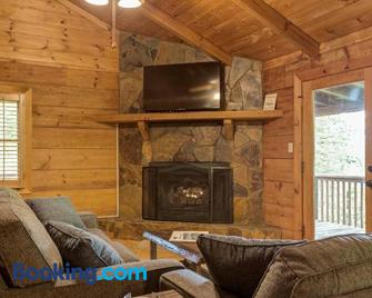 Moonshine Hollow Cabin - Blue Ridge - Living room