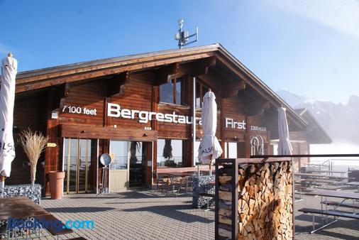 Berggasthaus First - Grindelwald - Bâtiment