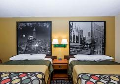 Super 8 by Wyndham Indianapolis - Indianapolis - Schlafzimmer