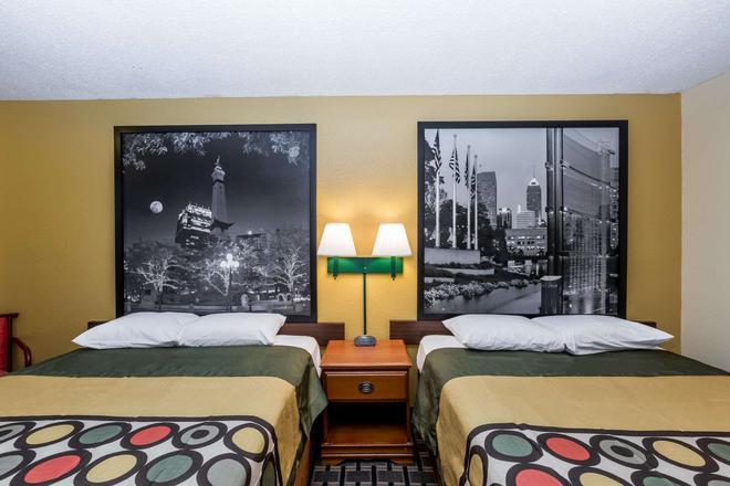Super 8 by Wyndham Indianapolis - Indianapolis - Bedroom