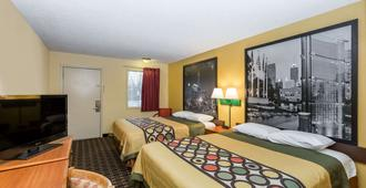Super 8 by Wyndham Indianapolis - Indianapolis - Bedroom