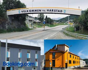 Midnattsol pensjonat - Harstad - Building