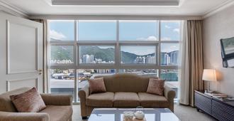 Haeundae Centum Hotel - Busan - Living room