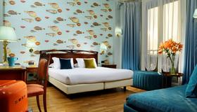 Hotel Continental Genova - Γένοβα - Κρεβατοκάμαρα