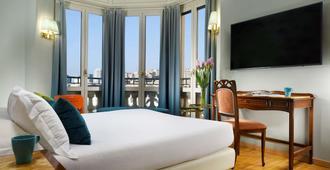 هوتل كونتننتال جينوة - جنوة - غرفة نوم