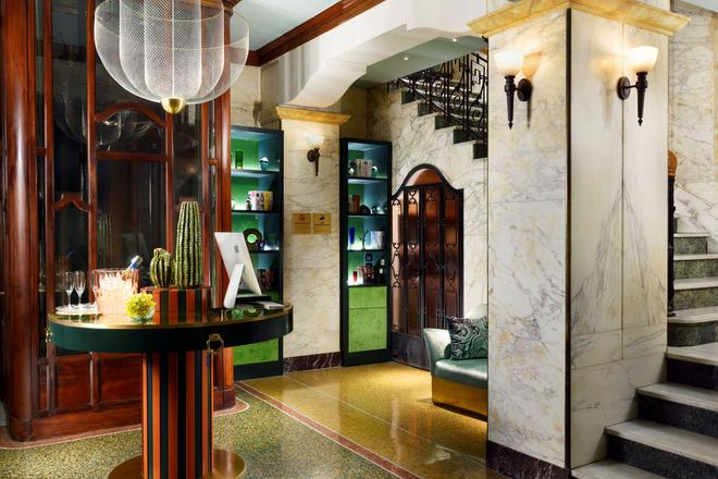 Hotel Continental Genova - Genoa - Lobby