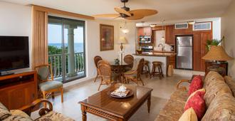 Lahaina Shores Beach Resort - Lahaina - Sala de estar