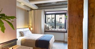 1 Hotel Central Park - ניו יורק - חדר שינה