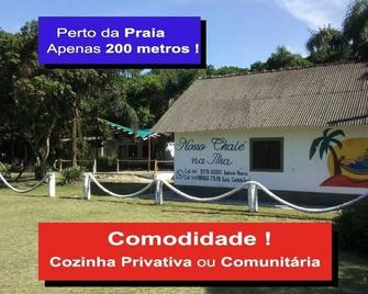 Nosso Chale Na Ilha - Cananeia - Будівля