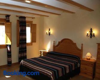 Casa Puritat - Morella - Camera da letto