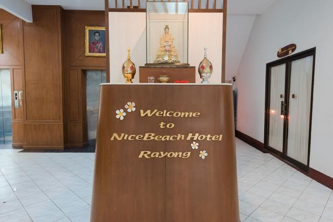 Nice Beach Hotel - Rayong - Front desk