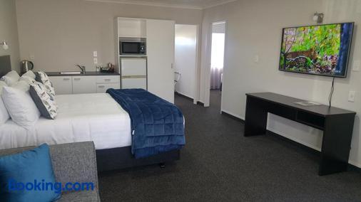 White Heron Motor Lodge - Gisborne - Bedroom