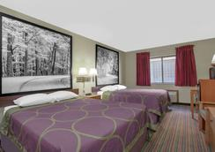 Super 8 by Wyndham Evansville East - Evansville - Phòng ngủ