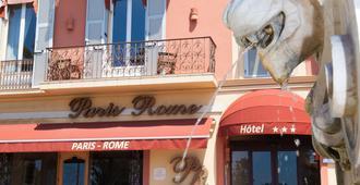 Paris Rome - Menton - Bygning