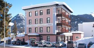 Hotel Concordia - Davos - Edifício