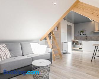 Appartement entier - Toile tendue - Wifi - Pontarlier - Sala de estar