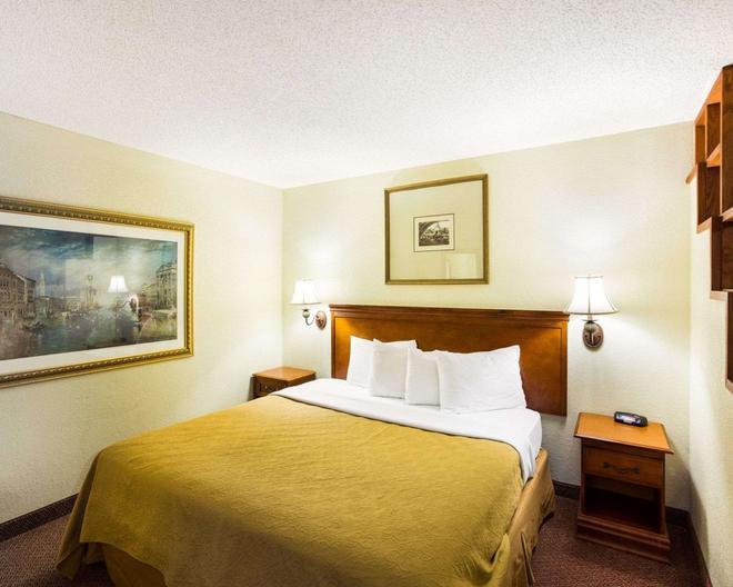 Rodeway Inn and Suites South of Fiesta Park - San Antonio - Bedroom