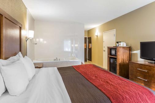 Comfort Inn & Suites - Dalton - Bedroom