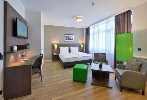 阿帕特羅 - 智慧線生活漢堡公寓酒店 - 漢堡 - 漢堡 - 臥室