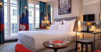 Les Matins de Paris & Spa - פריז - חדר שינה
