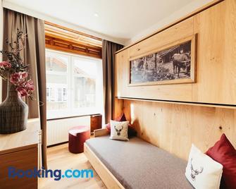 Adler Alpen Apartments - Шрунс - Living room