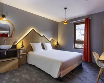 Hotel Base Camp Lodge - Bourg-Saint-Maurice - Chambre