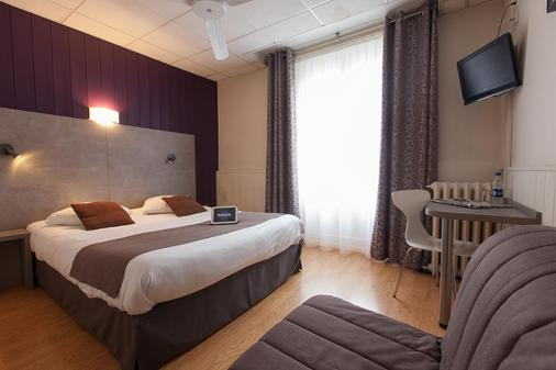 Royal Hotel Grenoble Centre - Grenoble - Makuuhuone