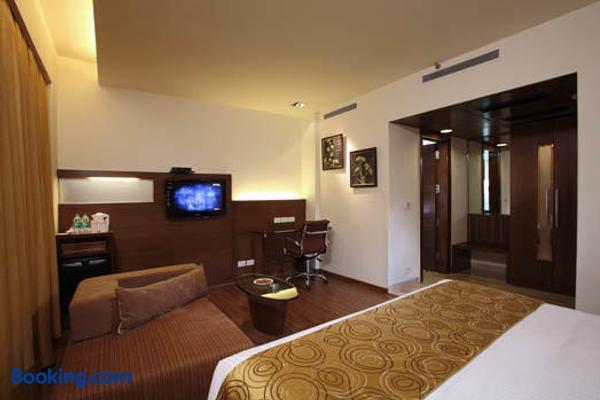 Indus Biznotel - New Delhi - Bedroom